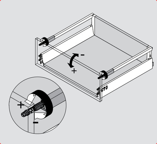IKEA Drawer Adjustments, IKEA Drawer Front Removal from