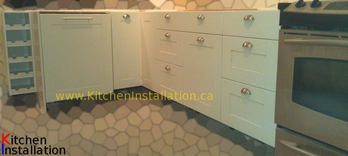 Ikea Kitchen Cabinet Construction Metod Wall Cabinet With Glass Door White Hyttan Oak Metod