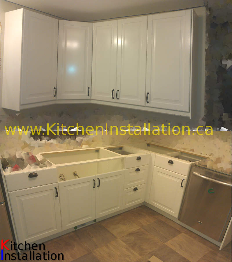 Installation of ikea kitchens gallery portfolio for Kitchen installation