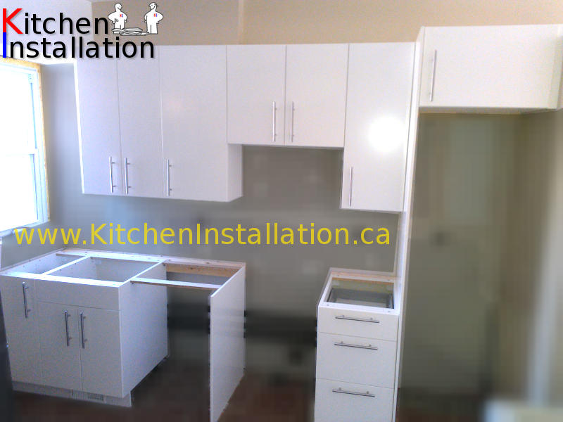 Ikea kitchen island installation for Kitchen installation