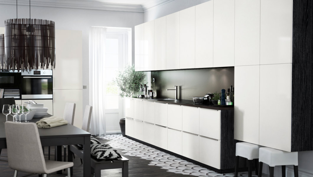 Ikea metod kitchen cabinets say hello to ikea brand new kitchen - Klein keuken model ...