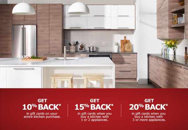 Ikea Kitchen Event 2015-2016 Canada Winter! Sale Get Up To 20% Back*!