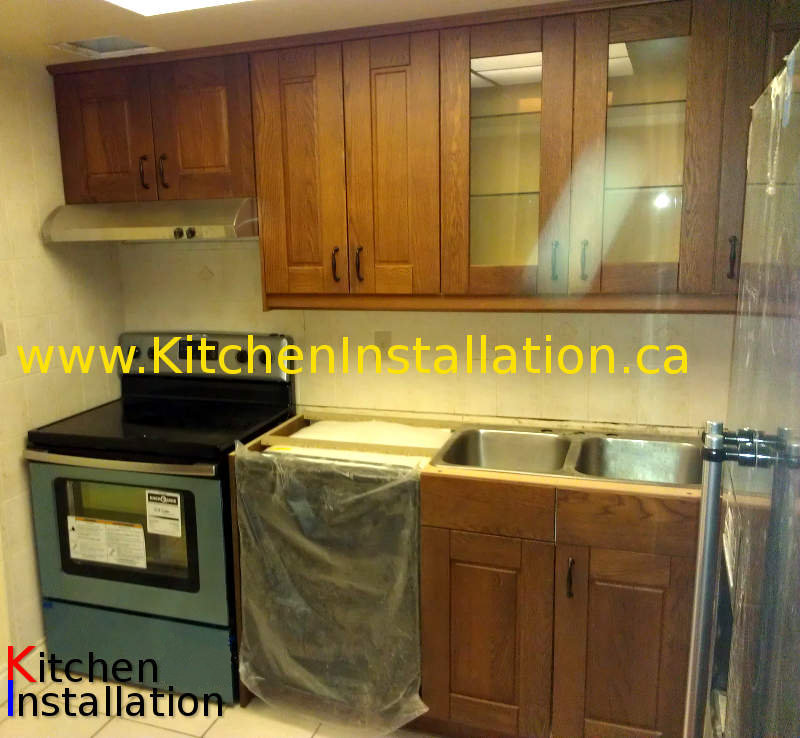 Installation Of IKEA Kitchens